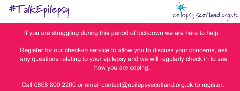 Epilepsy Scotland Check-In Services